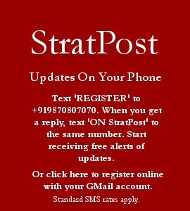 Click here to subscribe to StratPost SMS Alerts with youre GMail account. For Free!