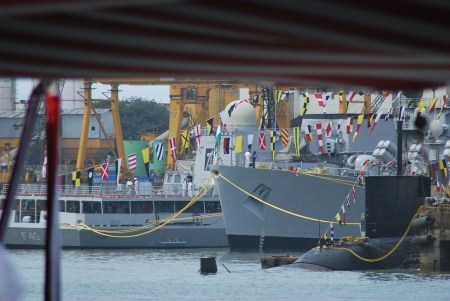 Submarines, too.