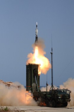 ASTER 30-SAMP/T firing in 2008. Copyright: MBDA