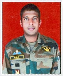 Major Anup Joseph Manjali, Bihar Regiment/24th Battalion, The Rashtriya Rifles, Kirti Chakra