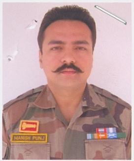 Major Manish Punj The Rajput Regiment/10th Battalion, The Rashtriya Rifles, Shaurya Chakra