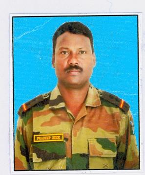 Subedar Pradeep Beck Bihar Regiment/24th Battalion, The Rashtriya Rifles, Shaurya Chakra